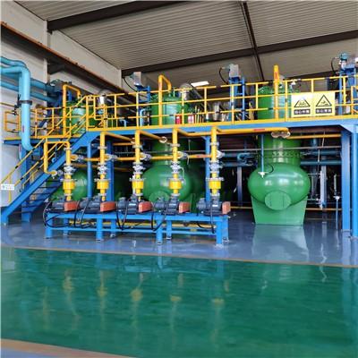 废轮胎炼油生产线|连续式炼油设备|废橡胶炼油设备