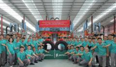 金宇轮胎越南工厂年产200万条TBR项目首胎下线
