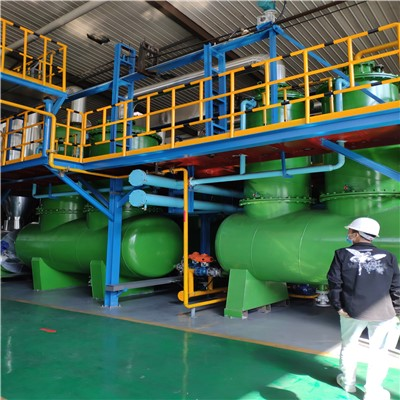 日处理20吨废轮胎炼油设备