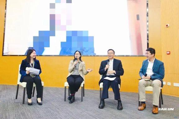 赛轮集团副总裁袁嵩参加论坛圆桌对话